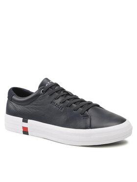 Tommy Jeans Tommy Jeans Sneakersy Premium Corporate Vulc Sneaker FM0FM03621 Tmavomodrá