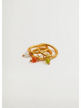 Mango Mango 3 gyűrű szett Alcudia 17040172 Arany