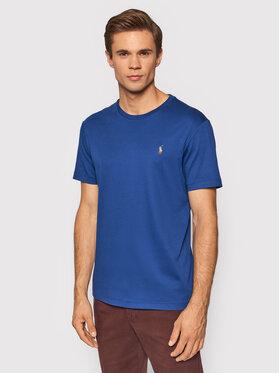 Polo Ralph Lauren Polo Ralph Lauren T-Shirt 710740727013 Tmavomodrá Custom Slim Fit