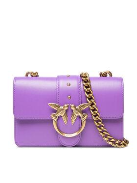 Pinko Pinko Дамска чанта Love Mini Icon Simply 10 C. 20212 PLTT 1P22AA Y6XT Виолетов