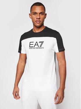 EA7 Emporio Armani EA7 Emporio Armani T-Shirt 6HPT52 PJT3Z 1100 Λευκό Regular Fit