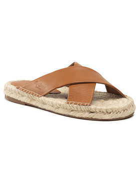 Pepe Jeans Pepe Jeans Espadrilky Holly Crossed PLS90215 Hnedá