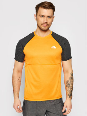 The North Face The North Face Koszulka techniczna Stretch NF0A494H Pomarańczowy Regular Fit