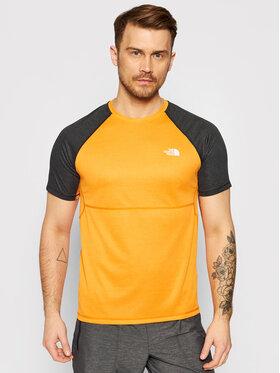 The North Face The North Face Techniniai marškinėliai Stretch NF0A494HQD51 Oranžinė Regular Fit