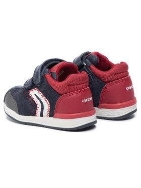 Geox Geox Sneakersy B Rishon B. B B940RB 08522 C4244 Tmavomodrá