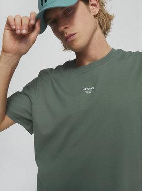 Sprandi Sprandi Marškinėliai SS21-TSM008 Žalia Regular Fit