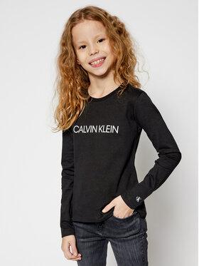 Calvin Klein Jeans Calvin Klein Jeans Blúz Institutional Logo IG0IG00627 Fekete Regular Fit