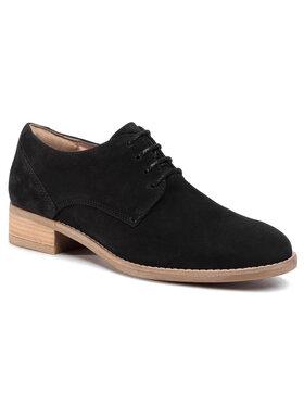 Clarks Clarks Pantofi Netley Bloom 261391934 Negru