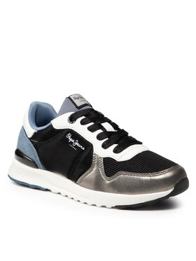 Pepe Jeans Pepe Jeans Sneakersy Verona Pro Calm PLS31274 Černá