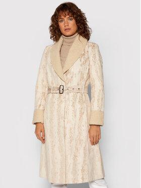 Desigual Desigual Płaszcz przejściowy Mervelous 21WWEW97 Beżowy Regular Fit