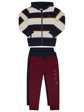 Mayoral Mayoral Komplet 2 par spodni dresowych i bluza 4821 Kolorowy Regular Fit