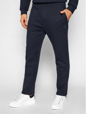 Guess Guess Pantalon jogging U1YA09 FL03P Bleu marine Regular Fit