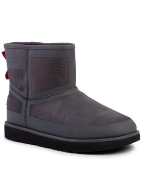 Ugg Ugg Chaussures M Classic Mini Urban Tech Wp 1103877 Gris
