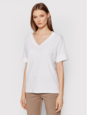 United Colors Of Benetton United Colors Of Benetton T-Shirt 3BVXE4265 Biały Regular Fit