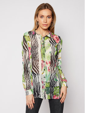 Guess Guess Camicia Ls Clouis W1RH09 W70Q0 Multicolore Relaxed Fit