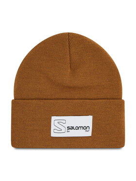 Salomon Salomon Čiapka Outlife Logo Beanie C15858 Hnedá