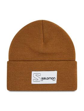 Salomon Salomon Шапка Outlife Logo Beanie C15858 Кафяв