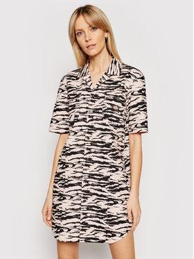 Dickies Dickies Φόρεμα πουκάμισο Pillager DK0A4XBTLPI1 Ροζ Regular Fit