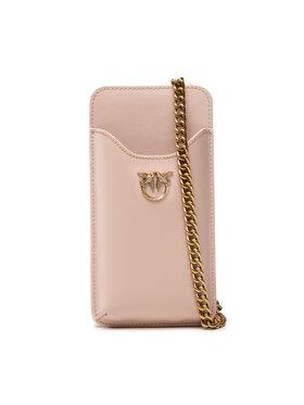 Pinko Pinko Дамска чанта I Phone Case Simply AI 21-22 PLTT 1P22ES Y6XT Розов