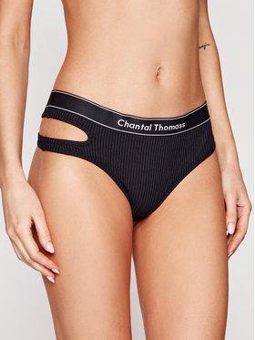 Chantal Thomass Chantal Thomass Бикини тип прашка Honore T05C80 Черен