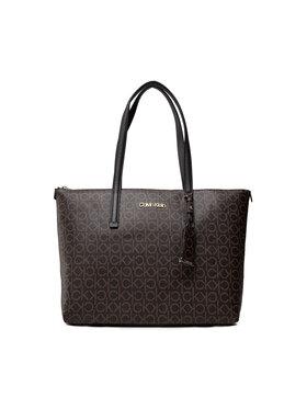 Calvin Klein Calvin Klein Handtasche Ck Must Shopper Md Mono K60K608623 Braun