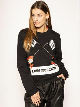 LOVE MOSCHINO LOVE MOSCHINO Sweatshirt W630630E 2124 Schwarz Regular Fit