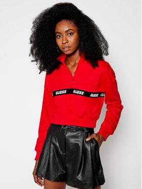 Guess Guess Sweatshirt O0BA03 KABS0 Rot Regular Fit