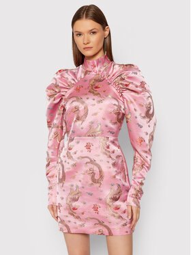 ROTATE ROTATE Robe de cocktail Kim RT652 Rose Regular Fit