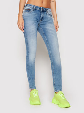 Tommy Jeans Tommy Jeans Дънки Sophie DW0DW09465 Син Skinny Fit