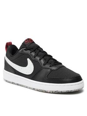 Nike Nike Cipő Court Borough Low 2 Se (Gs) CZ7154-001 Fekete