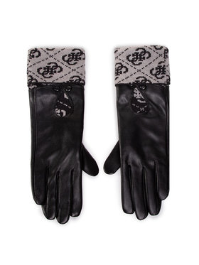 Guess Guess Дамски ръкавици Valy Gloves AW8545 POL02 Черен