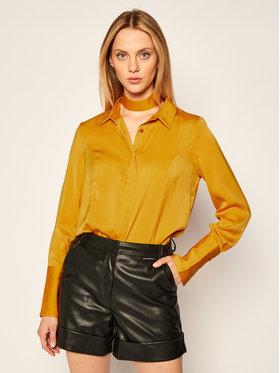 Guess Guess Marškiniai Vivian W0BH05 W3TO2 Geltona Loose Fit