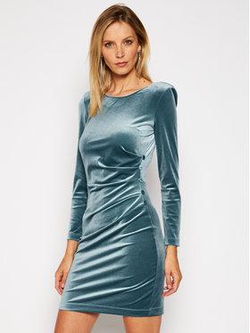 Patrizia Pepe Patrizia Pepe Sukienka koktajlowa 2A2158/A8E6-FB40 Niebieski Slim Fit