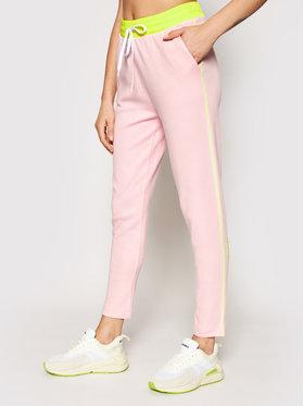 Ice Play Ice Play Παντελόνι φόρμας 21EU2M0B121P434 Ροζ Regular Fit