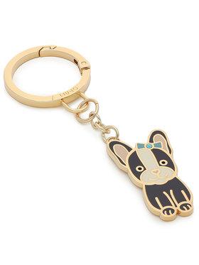 Liu Jo Liu Jo Schlüsselanhänger Key Ring French B AF1138 A0001 Goldfarben