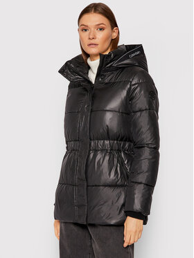 Calvin Klein Calvin Klein Pehelykabát Waisted K20K203128 Fekete Regular Fit