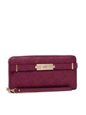 Guess Guess Veľká dámska peňaženka Bea (Vs) Slg SWVS81 32460 Bordová
