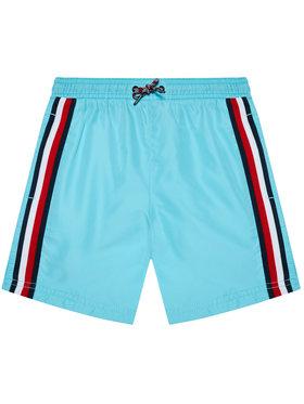 Tommy Hilfiger Tommy Hilfiger Kupaće gaće i hlače Medium Drawstring UB0UB00360 Plava Regular Fit