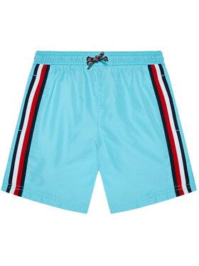 Tommy Hilfiger Tommy Hilfiger Pantaloncini da bagno Medium Drawstring UB0UB00360 Blu Regular Fit