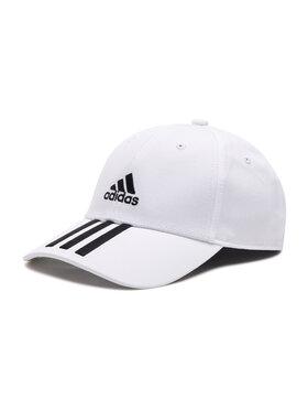 adidas adidas Șapcă Baseball 3-Stripes Twill Cap FQ5411 Alb