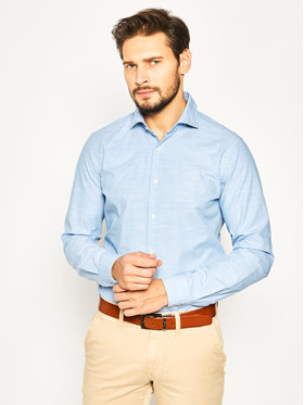 Strellson Strellson Camicia Sereno 30020157 Blu Slim Fit