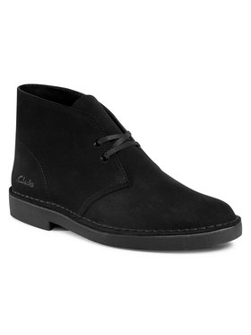 Clarks Clarks Μποτίνια Desert Boot 2 261554997 Μαύρο