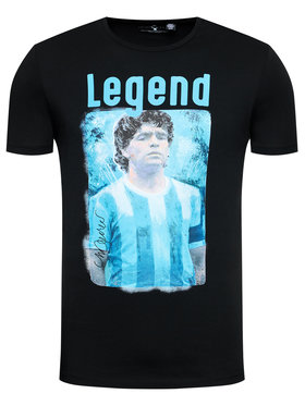 Only & Sons ONLY & SONS Póló Diego Maradona 22021552 Fekete Regular Fit