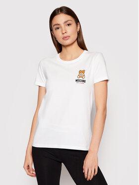 MOSCHINO Underwear & Swim MOSCHINO Underwear & Swim T-shirt ZUA1912 9021 Bianco Regular Fit