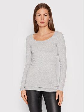 Vero Moda Vero Moda Блузка Maxi My 10152908 Сірий Slim Fit