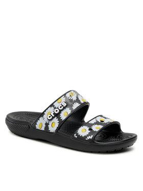 Crocs Crocs Шльопанці Classic Crocs Vacas 207284 Чорний