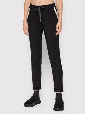 Liu Jo Sport Liu Jo Sport Текстилни панталони TF1155 F0833 Черен Regular Fit