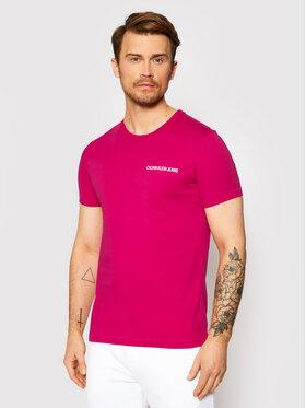 Calvin Klein Jeans Calvin Klein Jeans T-shirt J30J315245 Ružičasta Regular Fit