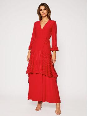 Pinko Pinko Vakarinė suknelė Zuccherino 20201 BLK01 1G14RJ Y639 Raudona Regular Fit