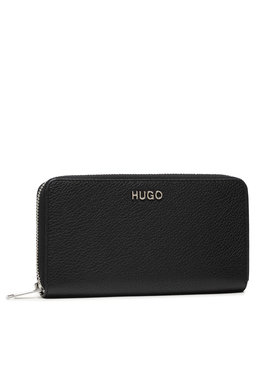 Hugo Hugo Великий жіночий гаманець Victoria Ziparound 50447480 Чорний